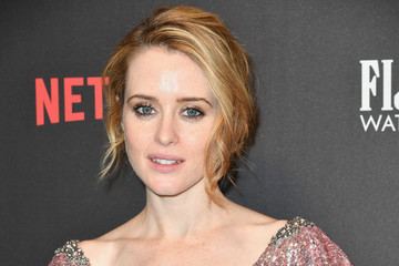 Claire Foy 2017 Weinstein Company and Netflix Golden Globes After Party - Arrivals