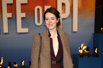 Claire Foy Life Of Pi - UK Premiere - Red Carpet Arrivals