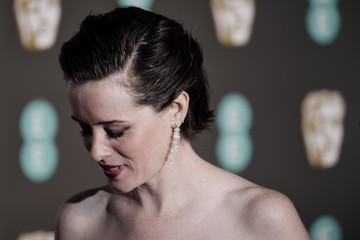 Claire Foy EE British Academy Film Awards - Red Carpet Arrivals