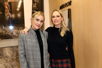Claire Holt MIRROR Westfield Century City Grand Opening Event