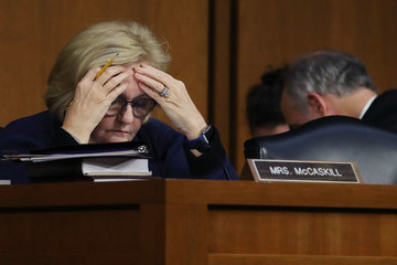 Claire McCaskill Senate Finance Committee Meets for Markup of Tax Bill