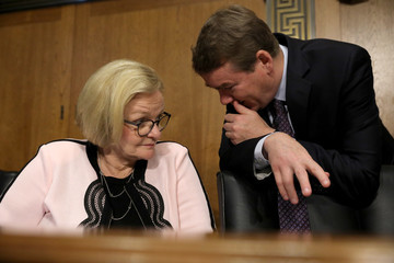 Claire McCaskill Senate Finance Committee Holds Nomination Hearing On Andrew Saul To Become Commissioner Of Social Security