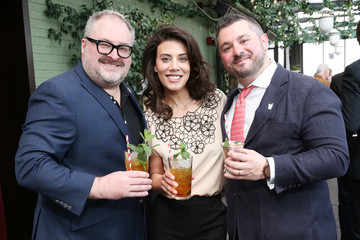 Claire Robinson Garden & Gun Mint Julep Month Kick Off Brunch In Partnership With Maker's Mark and Bourbon Country