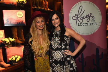 Clare Bowen Kacey Musgraves Attends 'Kacey for Lucchese' Collection Launch Event