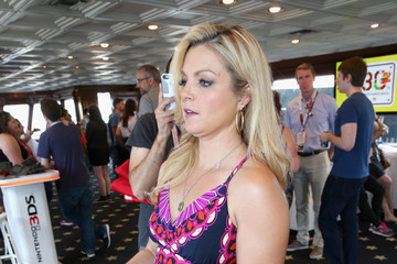 Clare Kramer The Nintendo Lounge on the TV Guide Magazine Yacht at Comic-Con International 2015