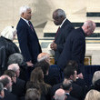Clarence Thomas Funeral for Supreme Court Justice Scalia Antonin Scalia Held in Washington, D.C.