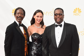Clarke Peters Arrivals at the 66th Annual Primetime Emmy Awards — Part 2