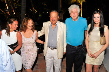 Claudia Ruiz Massieu Sylvester Stallone and His Family Are Guests of Honor at A Dinner to Celebrate the 9th Annual Acapulco Film Festival