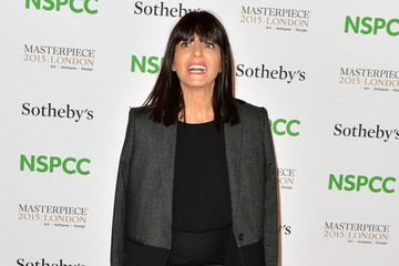 Claudia Winkleman Celebrities Arrive at the NSPCC Neo-Romantic Art Gala