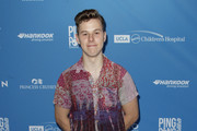 Nolan Gould attends Clayton Kershaw's 7th Annual Ping Pong 4 Purpose at Dodger Stadium on August 08, 2019 in Los Angeles, California.