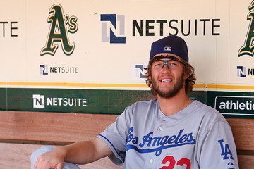Clayton Kershaw Los Angeles Dodgers v Oakland Athletics