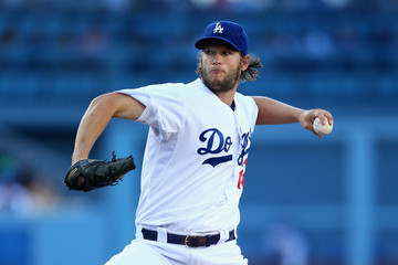 Clayton Kershaw Milwaukee Brewers v Los Angeles Dodgers