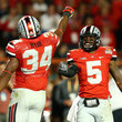 Braxton Miller and Carlos Hyde