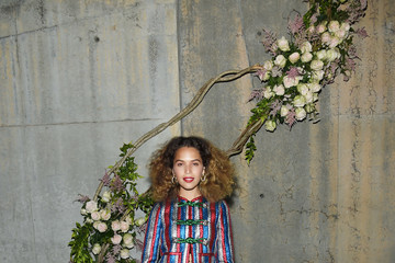 Cleo Wade Gucci Bloom, Fragrance Launch Event at MoMA PS1 in New York