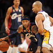 Mo Williams and Derek Fisher Photos