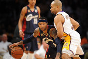 Mo Williams and Derek Fisher Photos Photo