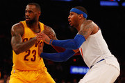 LeBron James Carmelo Anthony Photos Photo