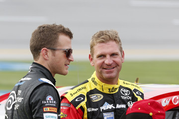 Clint Bowyer Talladega Superspeedway - Day 2