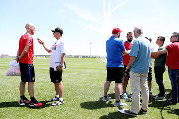 Clint Dempsey United States Training Session