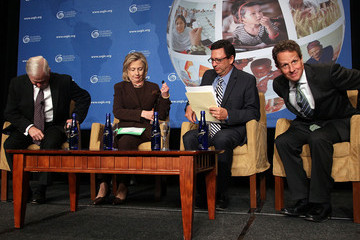 Frank Sesno Clinton, Gates, And Geithner Hold Discussion At Global Leadership Coalition