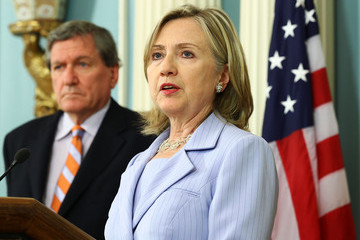 Richard Holbrooke Clinton Makes Statement About U.S. Relief Workers Killed In Afghanistan