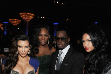 Cassie Sean Combs Clive Davis And The Recording Academy's 2012 Pre-GRAMMY Gala And Salute To Industry Icons Honoring Richard Branson - Roaming Inside