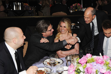 Britney Spears Jason Trawick Clive Davis And The Recording Academy's 2012 Pre-GRAMMY Gala And Salute To Industry Icons Honoring Richard Branson - Roaming Inside