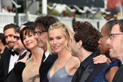 "Official Jury Members Jake Gyllenhaal, Guillermo del Toro, Rossy de Palma, Sophie Marceau, jury president Joel Coen, jury members Sienna Miller, Xavier Dolan, Rokia Traore and jury president Ethan Coen attend the closing ceremony and Premiere of ""La Glace Et Le Ciel"" (""Ice And The Sky"") during the 68th annual Cannes Film Festival on May 24, 2015 in Cannes, France."