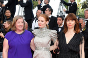 """Emily Beecham (C) attends the closing ceremony screening of """"The Specials"""" during the 72nd annual Cannes Film Festival on May 25, 2019 in Cannes, France."""
