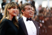 """Jennifer Flavin and Sylvester Stallone attend the closing ceremony screening of """"The Specials"""" during the 72nd annual Cannes Film Festival on May 25, 2019 in Cannes, France."""