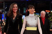 Alissa Jung and Member of the International Jury Berenice Bejo arrives for the closing ceremony of the 70th Berlinale International Film Festival Berlin at Berlinale Palace on February 29, 2020 in Berlin, Germany.