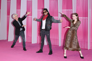 """Canneseries Digital jury members Ed Solomon, Adi Shankar and Jessica Barden attend the Closing Ceremony and """"Safe"""" screening during the 1st Cannes International Series Festival at Palais des Festivals on April 11, 2018 in Cannes, France."""