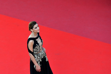 Clotilde Courau 'The Meyerowitz Stories' Red Carpet Arrivals - The 70th Annual Cannes Film Festival