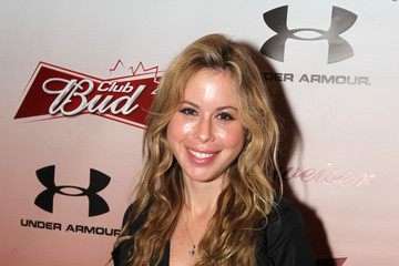Tara Lipinski Club Bud at the Olympics. Source: Getty Images