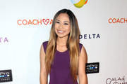 Singer-songwriter Jessica Sanchez attends the CoachArt 'Gala of Champions' at The Beverly Hilton Hotel on October 15, 2015 in Beverly Hills, California.