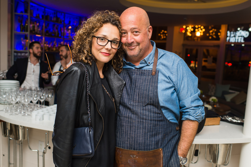 Is Andrew Zimmern Gay