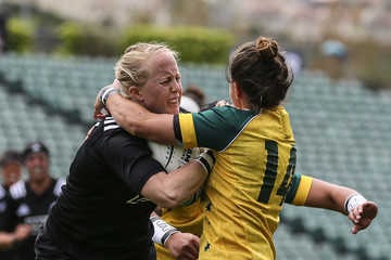 Cobie-Jane Morgan New Zealand Black Ferns v Australia Wallaroos