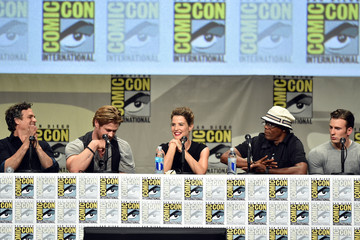 Cobie Smulders Marvel Studios Panel - Comic-Con International 2014