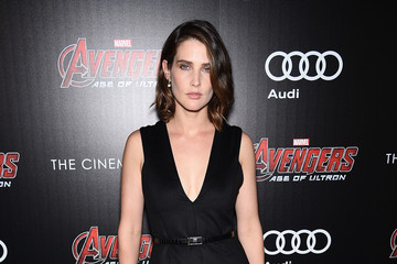 Cobie Smulders The Cinema Society Screening Of Marvel's 'Avengers: Age of Ultron' - Arrivals