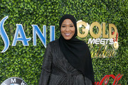 Ibtihaj Muhammad attends GOLD MEETS GOLDEN 2020, presented by Coca-Cola, BMW Beverly Hills And FASHWIRE, and hosted by Nicole Kidman and Nadia Comaneci, At The Virginia Robinson Gardens And Estate on January 04, 2020 in Beverly Hills, California.