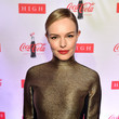 Kate Bosworth Goes Gold for Coca-Cola