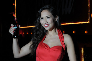 Myleene Klass Coca-Cola Christmas Truck Tour - Launch