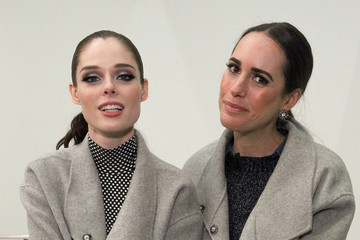Coco Rocha Louise Roe TRESemme at Banana Republic AW'15 Presentation