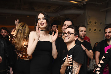 Coco Rocha Christian Siriano NYFW 10th Anniversary Collection After Party With Belvedere Vodka