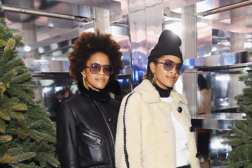 """Coco and Breezy Naomi Campbell And Matt Smith Celebrate """"Close Your Eyes And Think Of Christmas"""" In New York"""