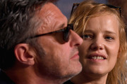 """Polish director Pawel Pawlikowski and actress Joanna Kulig attend the press conference for """"Cold War (Zimna Wojna)"""" during the 71st annual Cannes Film Festival at Palais des Festivals on May 11, 2018 in Cannes, France."""