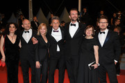 "Producer Tanya Seghatchian, actor Borys Szyc, actress Joanna Kulig, director Pawel Pawlikowski, actor Tomasz Kot, producer Ewa Puszczynska and Cinematographer Lukasz Zal attend the screening of ""Cold War (Zimna Wojna)"" during the 71st annual Cannes Film Festival at Palais des Festivals on May 10, 2018 in Cannes, France."