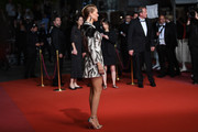 """Léa Seydoux attends the screening of """"Cold War (Zimna Wojna)"""" during the 71st annual Cannes Film Festival at Palais des Festivals on May 10, 2018 in Cannes, France."""