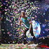 Chris Martin of Cold Play performs live on stage at Etihad Stadium on November 13, 2012 in Melbourne, Australia. - 4 of 40