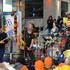 "Jonny Buckland Will Champion Photos - (L-R) guitarist Jonny Buckland, singer Chris Martin, drummer Will Champion and bassist Guy Berryman of Coldplay perform on NBC's ""Today"" at Rockefeller Plaza on March 14, 2016 in New York City. - Coldplay Performs on NBC's 'Today'"
